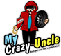 Welcome To MyCRAZYuncle Retina Logo